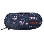 Emoji-ovalis-tolltarto-black-pink-2