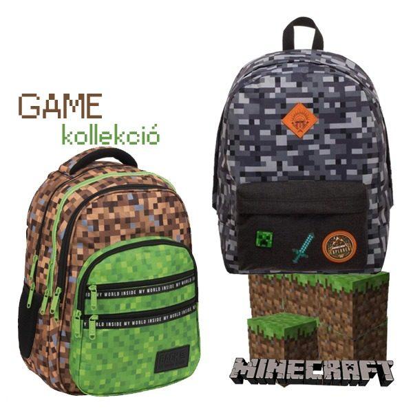 Minecraft iskolatáska