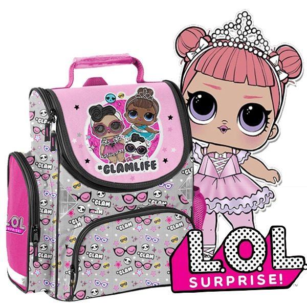 LOL Surprise iskolatáska