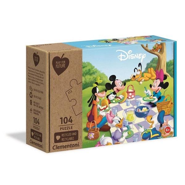 Mickey és barátai puzzle 104 db-os - Clementoni