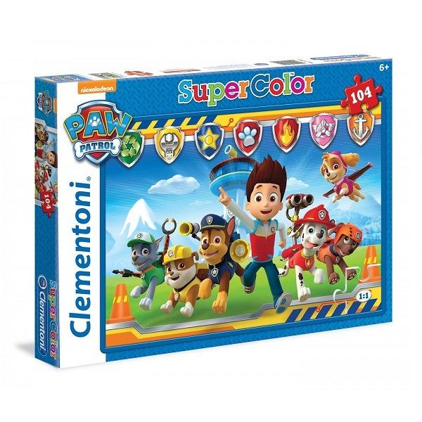 Mancs őrjárat Supercolor 104 db-os puzzle