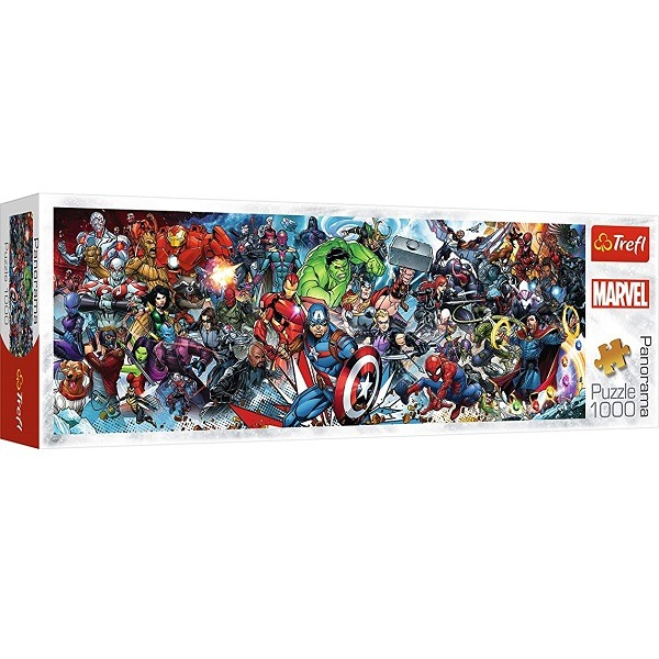Trefl Panoráma puzzle 1000 db-os - Marvel univerzum