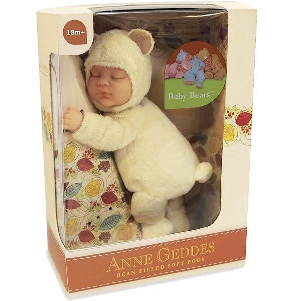 Anne Geddes játékbaba - Sárga maci