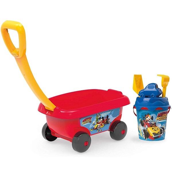 Mickey homokozó szett kocsival - Smoby