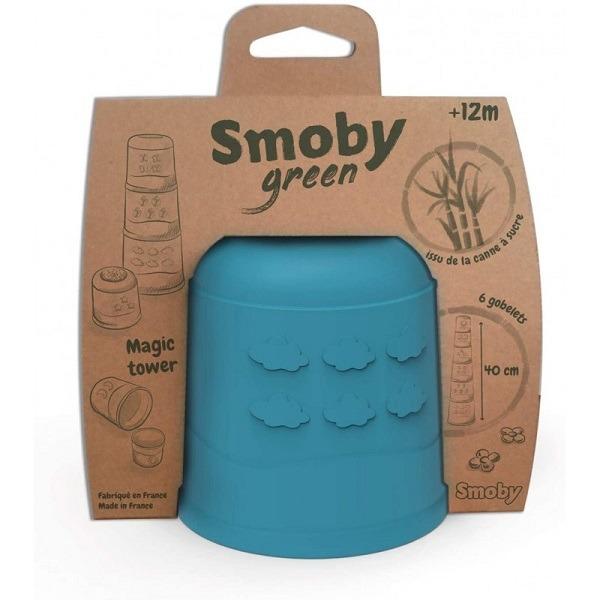 Torony mágikus torony - Smoby Smoby Cotoons Mágikus csészerakosgató torony (SMOBY)