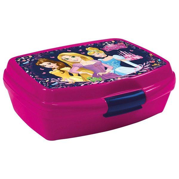 Disney hercegnők uzsonnás doboz