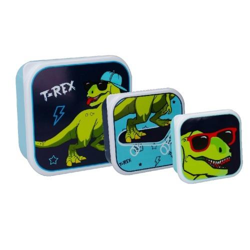 Dinoszauruszos uzsonnás doboz