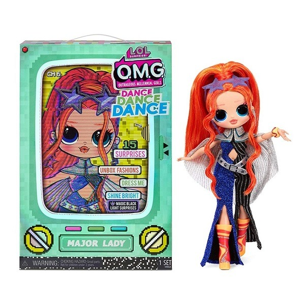 LOL Surprise OMG Dance Doll - Major Lady baba