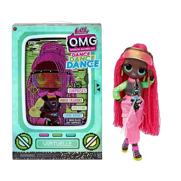 LOL Surprise OMG Dance Doll - Virtuelle baba