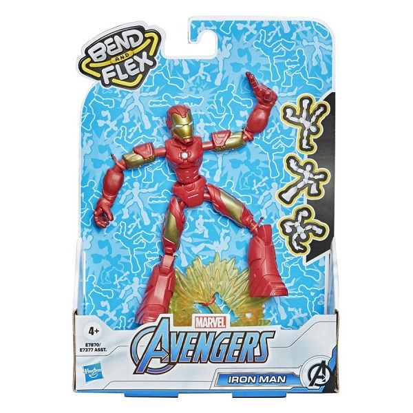 Marvel Avengers Bend and Flex figura - Iron Man