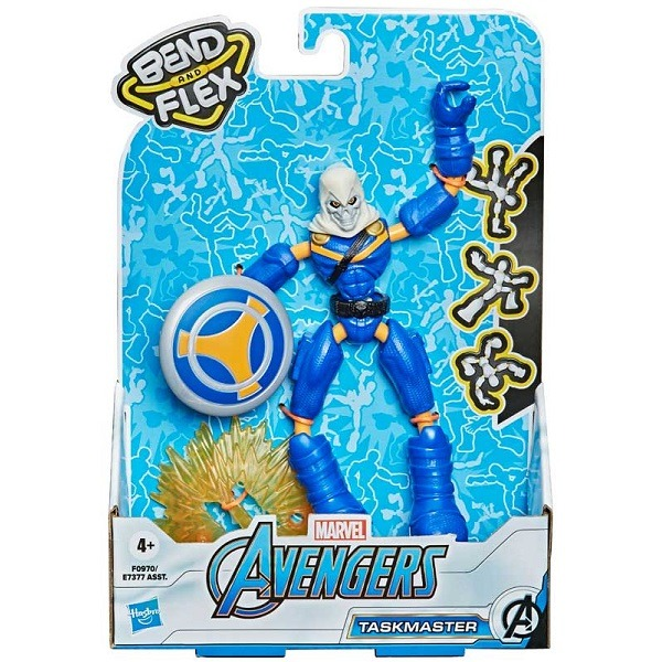 Marvel Avengers Bend and Flex figura - Taskmaster