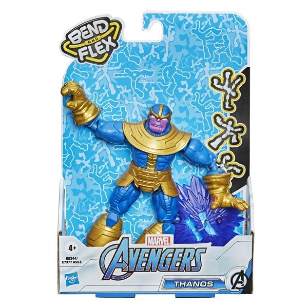 Marvel Avengers Bend and Flex figura - Thanos
