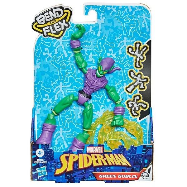 Marvel Spiderman Bend and Flex figura - Green Goblin